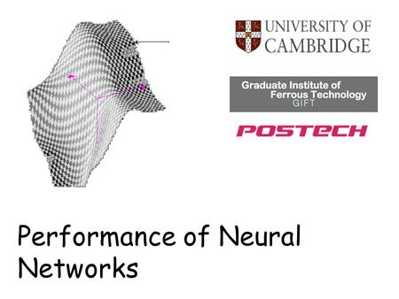 Performance of Neural Networks. Brief explanation of neural networks Four classes of innovations based on neural networks Are papers on neural networks.