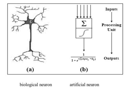 Biological neuronartificial neuron. A two-layer neural network Input layer (activations represent feature vector for one training example) Hidden layer.