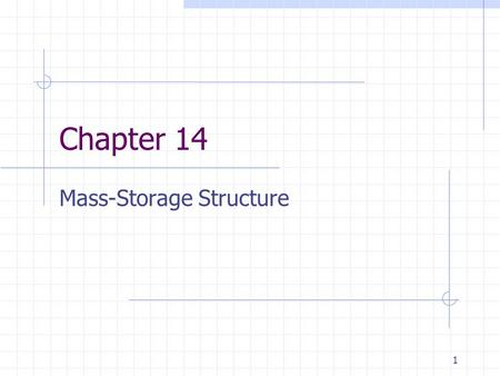 Mass-Storage Structure