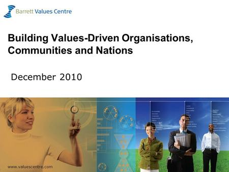 Www.valuescentre.com 1 Building Values-Driven Organisations, Communities and Nations December 2010.