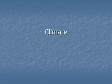 Climate. Introduction Factors that influence climate. Factors that influence climate. 1. Latitude 1. Latitude 2. Distance from sea / ocean 2. Distance.