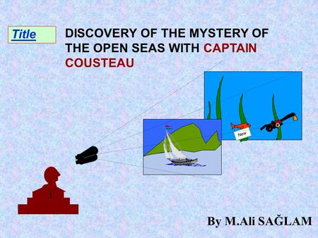 Title 1 O 2 New DISCOVERY OF THE MYSTERY OF THE OPEN SEAS WITH CAPTAIN COUSTEAU By M.Ali SAĞLAM.