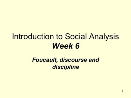 foucault s theory of discourse and power is the relation between discourse knowledge and power Power: knowledge equations in michel foucault relation between power and knowledge is primarily based on such an idea in a discussion on politics and discourse.
