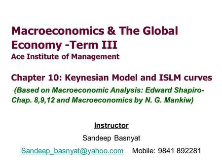 macroeconomics n gregory mankiw 7th edition pdf