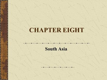 CHAPTER EIGHT South Asia. Housekeeping Items Today, we have the Vietnamese food group presentating. I would also like to do a bit more on Africa, and.