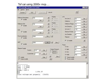 Tof cal using 2000v mcp….. 30116, 343nm, CEH old.