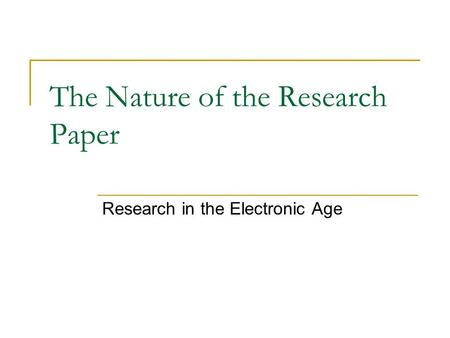 research papers age discrimation