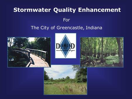 Stormwater Quality Enhancement