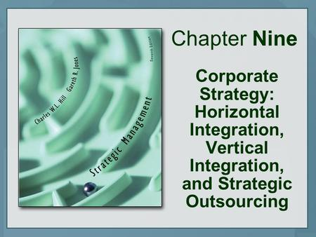 Chapter Nine Corporate Strategy: Horizontal Integration, Vertical Integration, and Strategic Outsourcing.