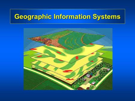 Geographic Information Systems. What is a Geographic Information System (GIS)? A GIS is a particular form of Information System applied to geographical.