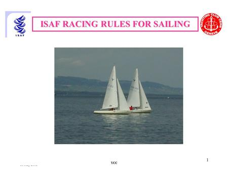 ISAF RACING RULES FOR SAILING