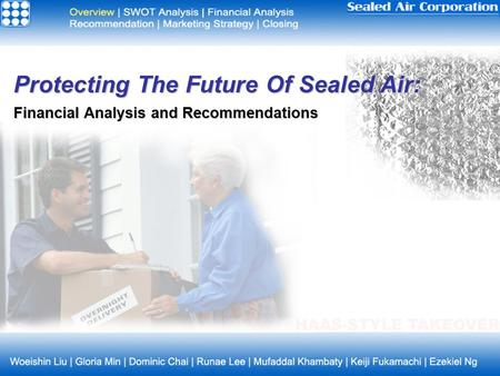 Protecting The Future Of Sealed Air: