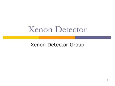 1 Xenon Detector Xenon Detector Group. 2/22 Contents  Construction Status Cryostat PMT mounts  PMT Pisa PMT test PSI PMT test Trouble report  Neutron.
