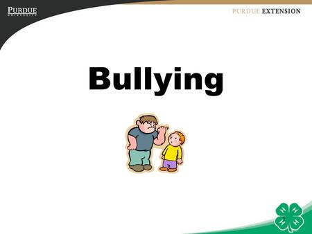 Bullying Introduction