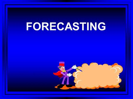 FORECASTING. FORECASTING TECHNIQUES l QUALITATIVE AND QUANTITATIVE l ECONOMETRIC OR REGRESSION ANALYSIS l SIMULTANEOUS EQUATION SETS l TIME SERIES ANALYSIS.