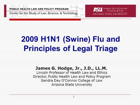 Principles of Legal Triage