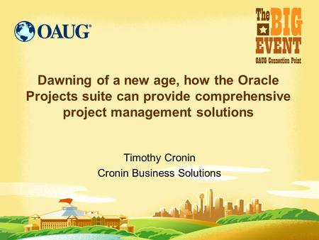 Timothy Cronin Cronin Business Solutions