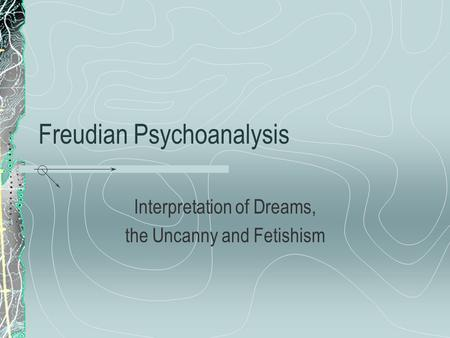 literature review on dreams sigmund freuds psychoanalysis Sigmund freud, psychoanalysis and literature: a critique  and there were many  attempts to both to study and treat its supposed ailments by hypnosis,  until the  1900 publication of the interpretation of dreams, which represented dreams as.