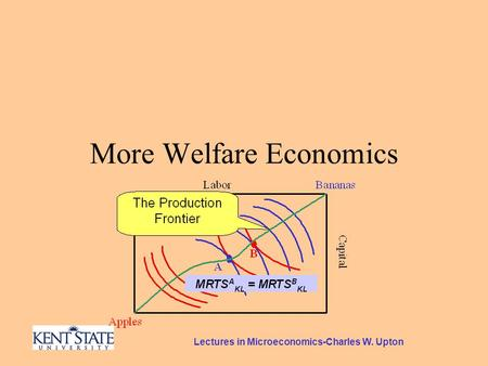 Lectures in Microeconomics-Charles W. Upton More Welfare Economics.