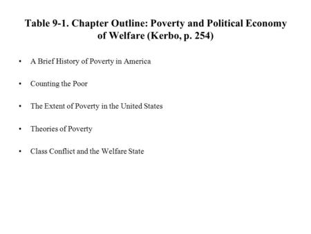the history of welfare in america The evolution of these efforts and the reasons for their failure make for an intriguing lesson in american history, ideology, and character  presidential leadership that might have involved the national government more extensively in the management of social welfare.
