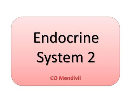 Endocrine System 2. Part 2: Metabolism Overweight or obesity Adiposity Central obesity B.M.I. above normal Body fat greater than normal Abnormal distribution.