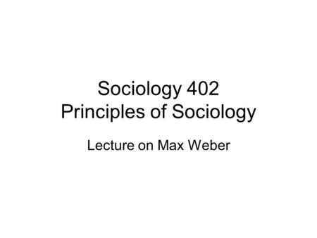 "from max weber essays in sociology sparknotes Essay on bureaucracy: it's meaning and growth  according to max weber, bureaucracy ""is a system of administration characterized by expertness, impartiality and the absence of humanity."