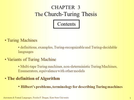 church turing thesis paper