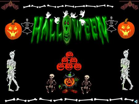 History of custom of Halloween ……………………………….. P.3-8 How to make a frightening pumpkin face …………………….. P.9 Games …………………………………………………………… P. 10 Poem ……………………………………………………………..