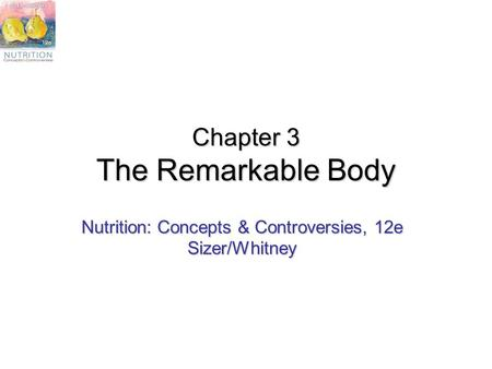 Chapter 3 The Remarkable Body