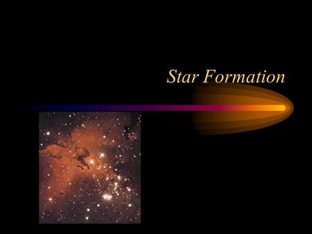 Star Formation. Classifying Stars The surface temperature of a star T is compared to a black body. –Luminosity L –Radius R The absolute magnitude calculates.
