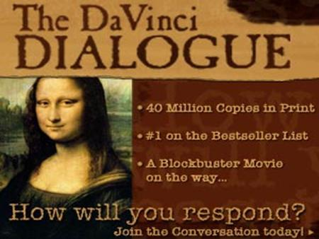 2 Thousands Of New Testament Manuscripts Say 'Da Vinci Code' Is But A Work Of Fiction! ARTHUR DURNAN MINISTRIES OF CANADA.
