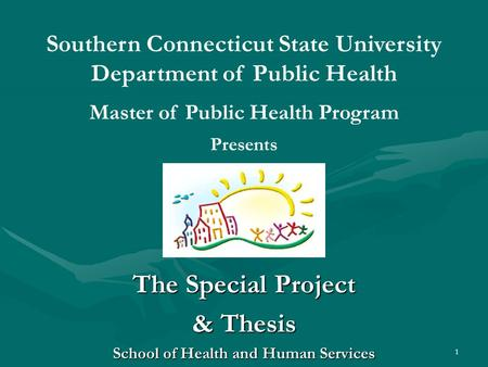 Thesis health services