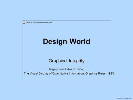 Design World Graphical Integrity