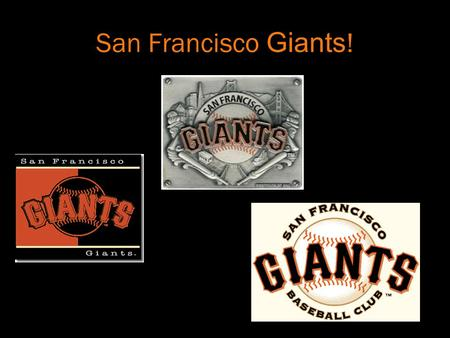 San Francisco G iants !. SBC Park What the Giants Call Home! The park opened on April 11, 2000 Features an 80-foot Coca-Cola bottle with two interior.