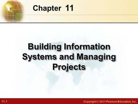 Building Information Systems and Managing Projects