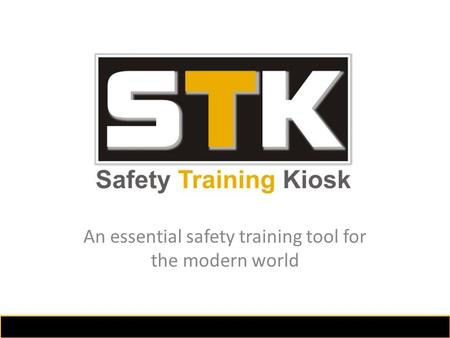 An essential safety training tool for the modern world.
