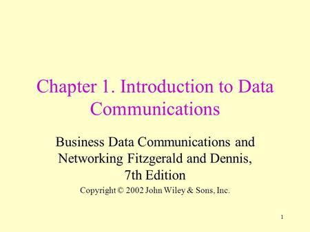 introduction to business communications