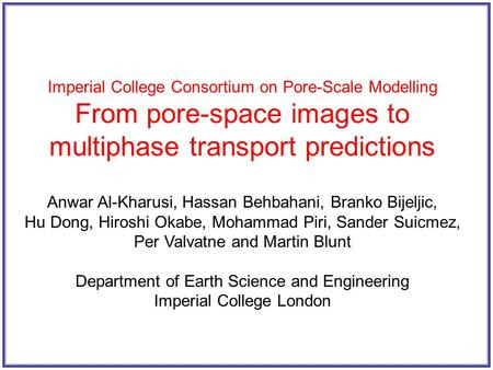 From pore-space images to multiphase transport predictions