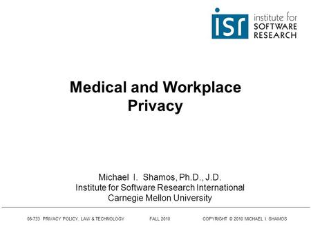 technology and employee privacy rights essay The essay will attempt to address the the scope of employee privacy rights in the workplace needs to be defined and is technology an invasion of privacy.