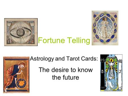Astrology and Tarot Cards: