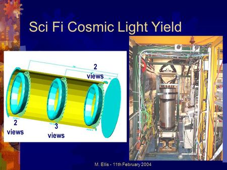 M. Ellis - 11th February 2004 Sci Fi Cosmic Light Yield 2 views 3 views.
