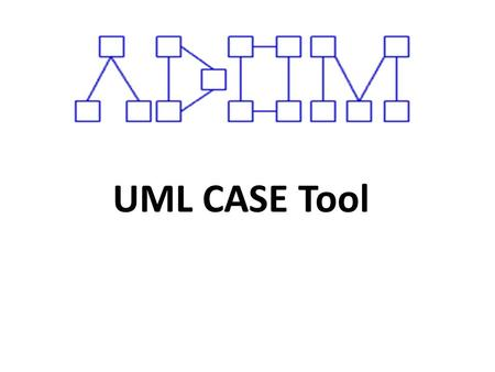 UML CASE Tool. ABSTRACT Domain analysis enables identifying families of applications and capturing their terminology in order to assist and guide system.