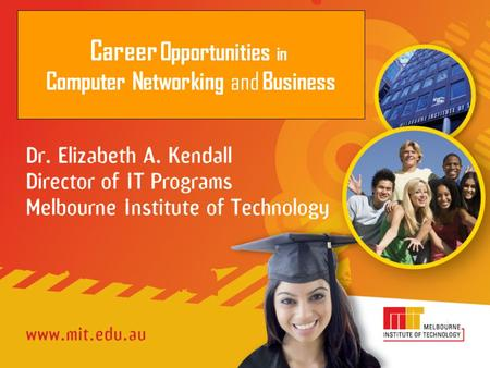 Career Opportunities in Computer Networking and Business.