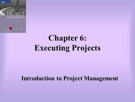 Chapter 6: Executing <strong>Projects</strong>
