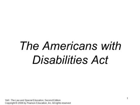 an analysis of the american disabilities act Hhs: your rights under the americans with disabilities act (pdf) employer obligations under the americans with disabilities act american physical therapy association | 1111 north fairfax street, alexandria, va 22314-1488 703/684-apta (2782.