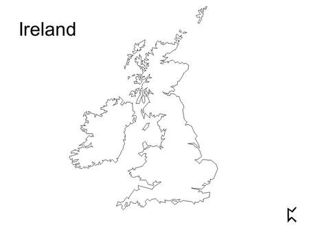 Ireland. Iceland and Ireland on the same scale.
