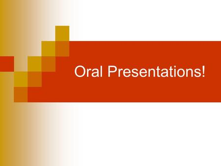 Oral Presentations!. Let's practice.. Groups of 5 people *Stand* and discuss one of the following for 1 minute:  The best place you've traveled to and.