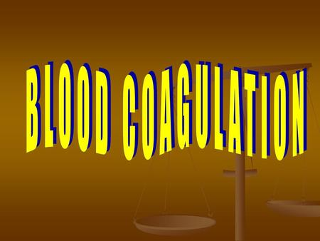 Blood coagulation involves a biological amplification system in which relatively few initiation substances sequentially activate by proteolysis a cascade.