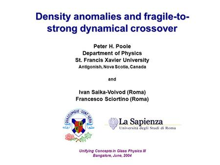 Density anomalies and fragile-to-strong dynamical crossover
