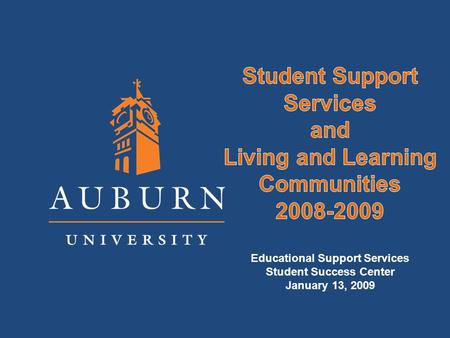 Student Success Solid Orientation and First Year Experiences Academic Curriculum & Faculty Interaction Accessible Student Support Systems Academic and.